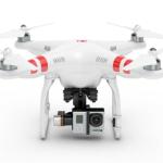 Light Quadropter + Gopro Hero 4 Black